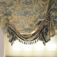 Австрийские шторы фото
