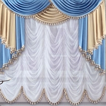Французские шторы фото