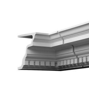 Внутренний угол фасадного карниза Европласт 4.02.321 фото