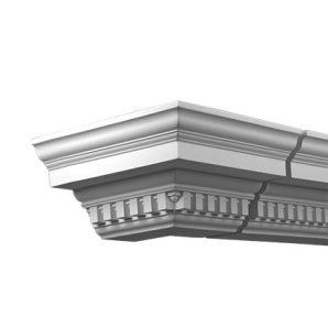 Внешний угол фасадного карниза Европласт 4.31.212 фото