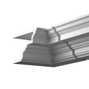 Внутренний угол фасадного карниза Европласт 4.31.221 фото