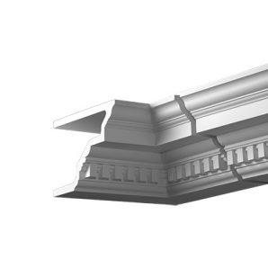 Внутренний угол фасадного карниза Европласт 4.31.222 фото