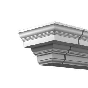 Внешний угол фасадного карниза Европласт 4.31.231 фото