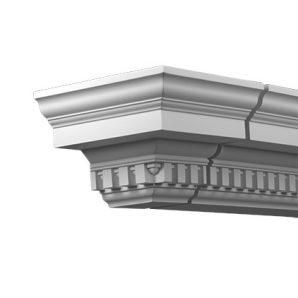 Внешний угол фасадного карниза Европласт 4.31.232 фото