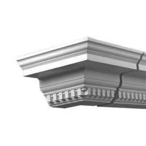 Внешний угол фасадного карниза Европласт 4.31.312 фото