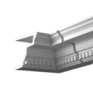 Внутренний угол фасадного карниза Европласт 4.31.322 фото