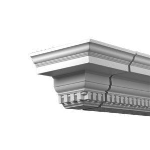 Внешний угол фасадного карниза Европласт 4.31.332 фото