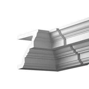 Внутренний угол фасадного карниза Европласт 4.32.221 фото