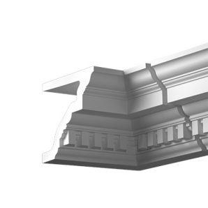 Внутренний угол фасадного карниза Европласт 4.32.222 фото