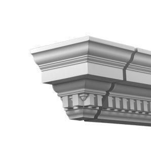 Внешний угол фасадного карниза Европласт 4.32.232 фото