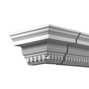 Внешний угол фасадного карниза Европласт 4.32.311 фото