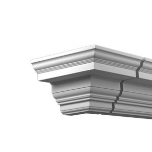 Внешний угол фасадного карниза Европласт 4.32.312 фото