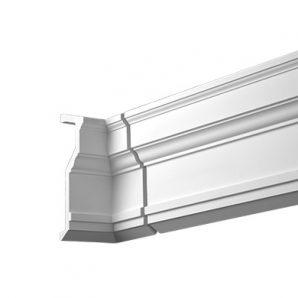 Внутренний угол фасадного карниза Европласт 4.81.021 фото