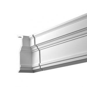 Внутренний угол фасадного карниза Европласт 4.81.022 фото