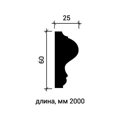 Молдинг для стены Европласт 1.51.302 фото (3)