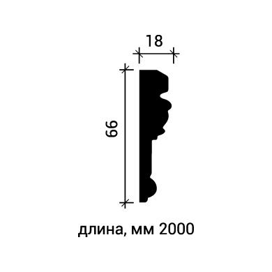 Молдинг для стены Европласт 1.51.314 фото (3)