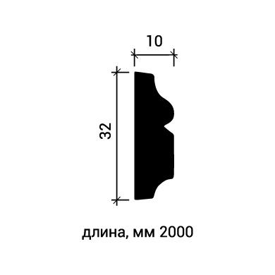 Молдинг для стены Европласт 1.51.323 фото (3)