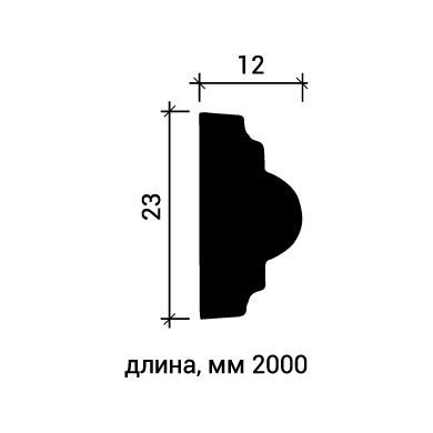 Молдинг для стены Европласт 1.51.329 фото (3)