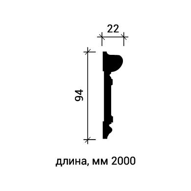 Молдинг для стены Европласт 1.51.345 фото (3)