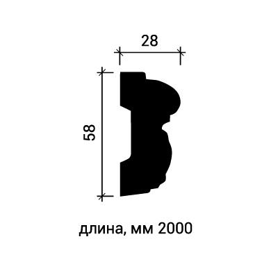 Молдинг для стены Европласт 1.51.351 фото (3)