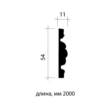 Молдинг для стены Европласт 1.51.369 фото (2)