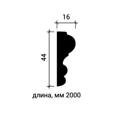 Молдинг для стены Европласт 1.51.400 фото (2)