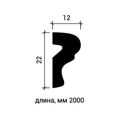 Молдинг для стены Европласт 1.51.401 фото (3)