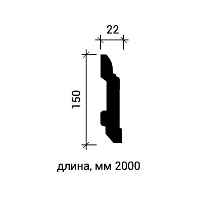 Плинтус напольный Европласт 1.53.102 фото (3)
