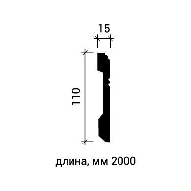 Плинтус напольный Европласт 1.53.103 фото (3)
