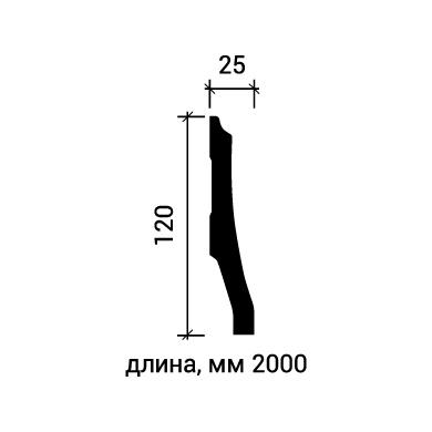 Плинтус напольный Европласт 1.53.104 фото (3)