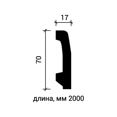 Плинтус напольный Европласт 1.53.106 фото (3)