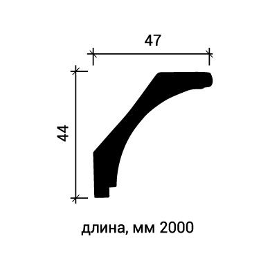 Потолочный плинтус Европласт 1.50.172 фото (3)