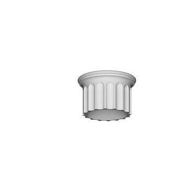 Сегмент колонны верхний Европласт 4.12.003 фото