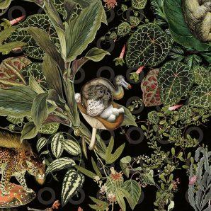 Обои Arte Moooi Wallcovering Extinct Animals MO2071 фото
