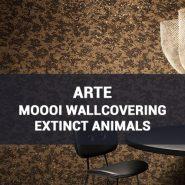 Обои Arte Moooi Wallcovering Extinct Animals каталог