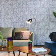 Обои HookedOnWalls Tinted Tiles фото 6