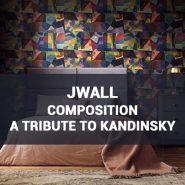Обои JWall Composition (A Tribute To Kandinsky) фото