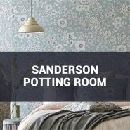 Обои Sanderson Potting Room фото