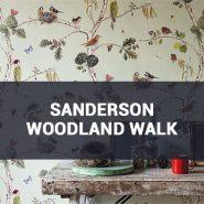 Обои Sanderson Woodland Walk фото