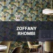 Обои Zoffany Rhombi фото