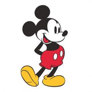 Наклейка York Disney Kids 4 RMK3259GM фото