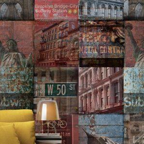 Панно Grandeco Mural Wallpaper a40101 фото