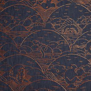 Обои Arte Moooi Wallcovering Tokyo Blue MO3000 фото