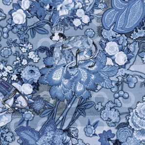Обои Arte Moooi Wallcovering Tokyo Blue MO3012 фото