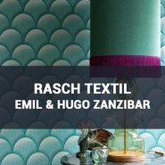 Обои Rasch Textil Emil & Hugo Zanzibar каталог