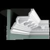 Декор потолочного плинтуса Orac Decor C307A фото (1)