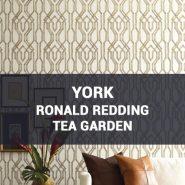 Обои York Ronald Redding Tea Garden фото