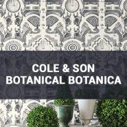 Обои Cole & Son Botanical Botanica каталог