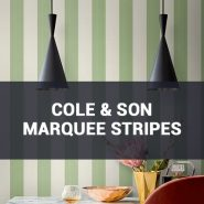 Обои Cole & Son Marquee Stripes фото
