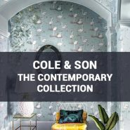 Обои Cole & Son The Contemporary Collection фото